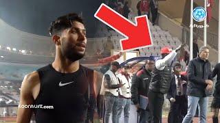 ضغط كبير عاشه غاريدو والبدلاء الدقائق الأخيرة من المباراة و احتفالية مجنونة للاعبين مع جماهير الوداد