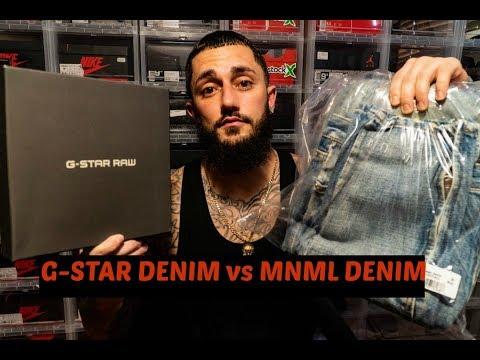 MNML DENIM vs G-STAR RAW DENIM!!!! APPARAL PICKUP&HONEST REVIEW!!!
