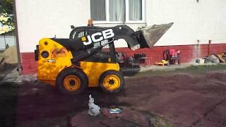 Как завезти грунт на участок  🚜 Бобкетом - Спецтехника39