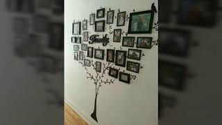 45 Family Tree Wall Decor Ideas