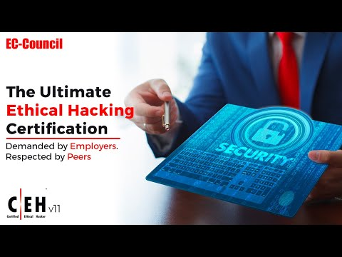 CEH v11: The Ultimate Ethical Hacking certification - YouTube