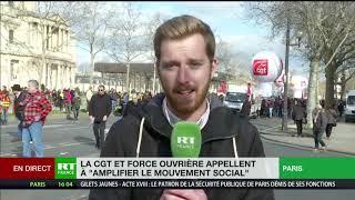 Mobilisation dans les rues de Paris pour «amplifier le mouvement social»