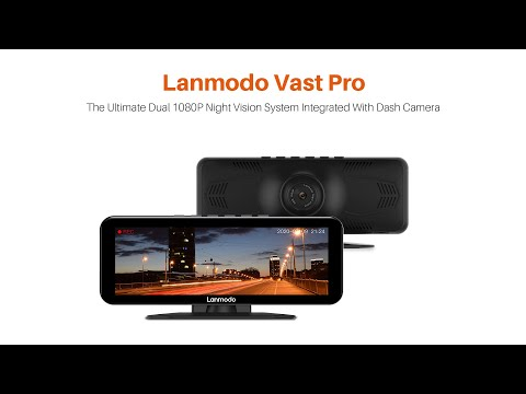 Lanmodo Vast Pro: Night Vision System with Dashcam-GadgetAny