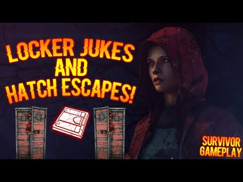 LOCKER JUKES AND HATCH ESCAPES! - Survivor Gameplay - Dead By Daylight