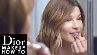 Dior Makeup How To: Look Printemps 2016 Glowing Gardens Avec Hanneli