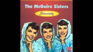 McGuire SIsters - Goodnight My Love, Pleasant Dreams