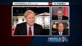 HARDBALL: Chris Mathews, Bob Shrum & Pat Buchanan on Climate Change (12/18/09)