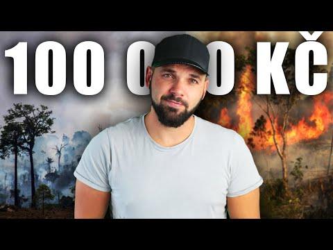 100 000 KČ NA ZÁCHRANU AMAZONIE