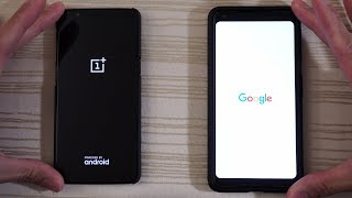 OnePlus 5T Oreo vs Google Pixel 2 XL - Speed Test!