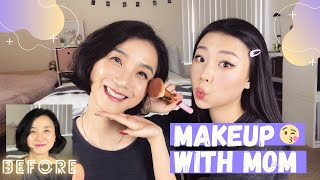 MAKEUP WITH MOM | MY DAILY MAKEUP