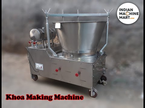 Khoya Machine Diesel Operated Models