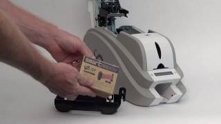 IDP Smart 50 ID Card Printer - How To Load Ribbons & Cards