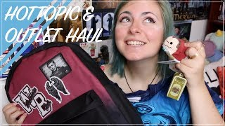HOTTOPIC & DISNEY OUTLET HAUL   AUGUST 2017