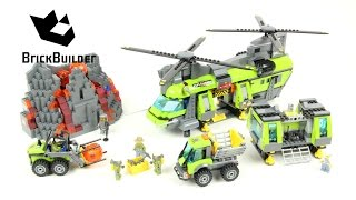 Lego City 60125 Volcano Heavy-Lift Helicopter - Lego Speed Build