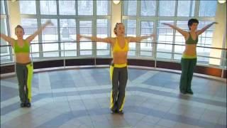 Танцевальная аэробика часть 1.avi