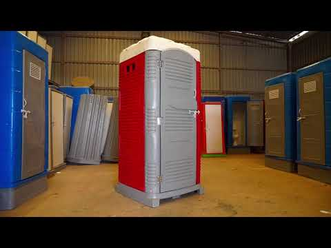 Roto Molded HDPE Double Wall Porta Clean Portable Mobile Chemical Toilet