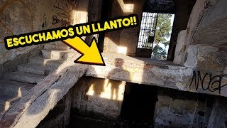EXPLORANDO SANATORIO ABANDONADO ESCUCHAMOS UN LLANTO  #URBEX 16