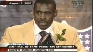 Michael Irvin Hall of Fame Speech