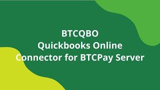 BTCPay QuickBooks