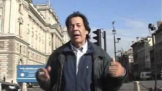 Delícia que é andar a pé em Londres.