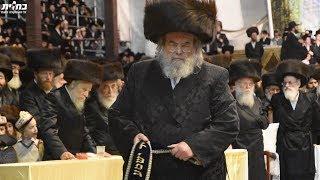 """שמחת בית בעלזא תשע""""ח - מצווה טאנץ   Highlights Of Belz Mitzvah Tantz 5778"""