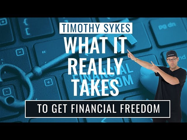 What It Really Takes to Get Financial Freedom {VIDEO}