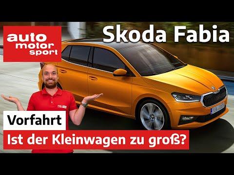 Skoda Fabia (2021): Zu groß für einen Kleinwagen? – Fahrbericht/Review   auto motor und sport