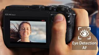 YouTube Video srj04oE5o1U for Product Canon EOS M6 Mark II APS-C Mirrorless Camera by Company Canon in Industry Cameras