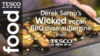 Derek Sarno's Wicked vegan BBQ miso aubergine