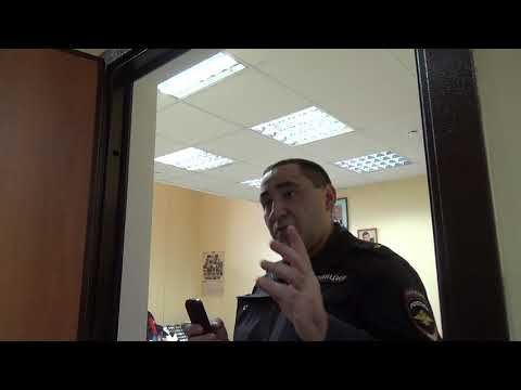 """Майор полиции: """"доверенность должна быть только """"нотариальная"""""""