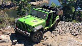 Scratching and Sliding Across The Rubicon Trail In the New Jeep Wrangler JL
