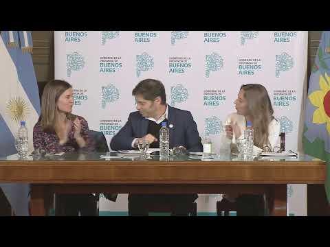 VIVO | Presentación del Gobernador Axel Kicillof