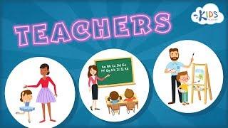 Teachers for Kids | Jobs & Occupations | Social Studies for Preschool & Kindergarten | Kids Academy