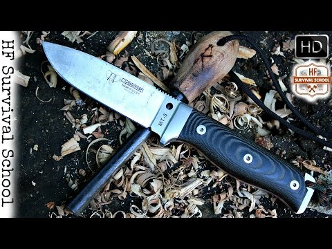 Cudeman MT-5 Review – Best Spanish Survival Knife ? – Bushcraft – HD Video