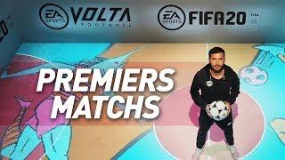 VOLTA - MES PREMIERS MATCHS !