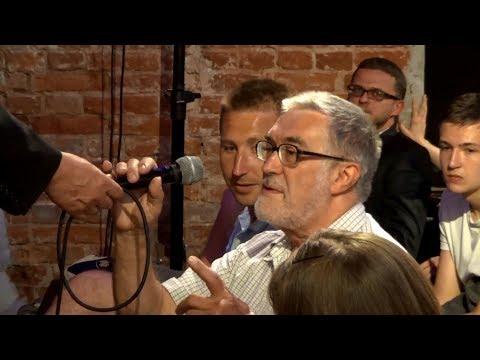 Janusz Korwin-Mikke w Warszawie (Mokotów) 06.06.2018 (wykład + pytania)
