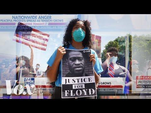 Protesty nejsou takové, jaké se jeví v televizi