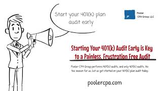 Starting Early On Your 401k Plan Audit is Key to a Painless, Frustration Free Audit