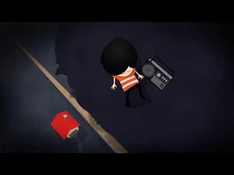 Midnight Radio - Alex Hallahan & The Woodland Hunters, Animation Music Film Clip