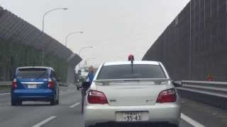 千葉県警察本部 ヤル気まんまんな千葉北高速インプ
