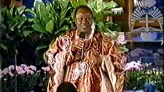 Archbishop Benson Idahosa - How to Find Favor with God 1