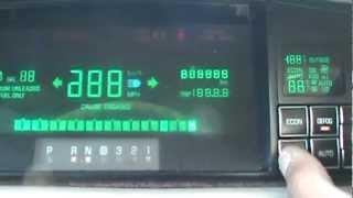 Cadillac DeVille Gauge Cluster Reprogramming: Engine RPM, Coolant Temp & Battery Voltage