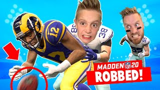 Getting ROBBED in Madden NFL 20 Franchise Part 14! K-CITY GAMING