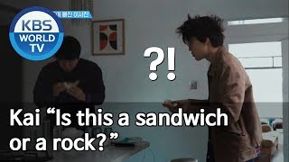 """Kai """"Is this a sandwich or a rock?"""" [Sooro's Rovers /2019.07.08]"""