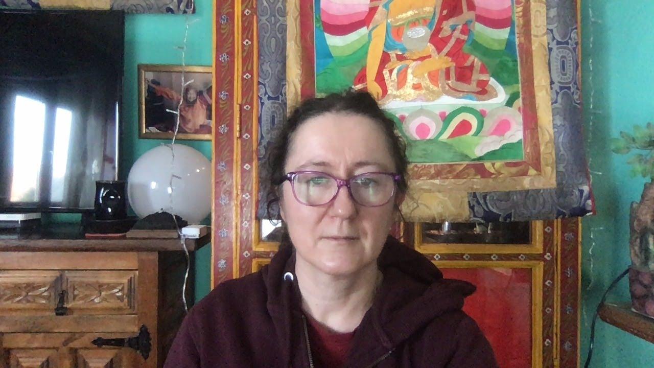 Lama Gangchen Tantric Self-Healing 2- Commentary by Lama Caroline - part 56 (EN) Swift Return prayers