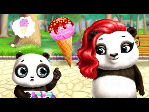 Learn to Make Ice Cream and Play with Cute Panda - Funny Panda Lu Baby Bear City Kids Game