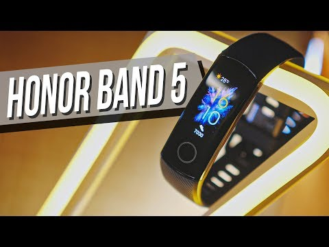 Обзор Honor Band 5