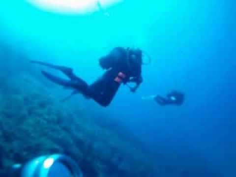 Tief TG im Rahmen des AOWD, Skinaria-Bucht,Kreta,Griechenland