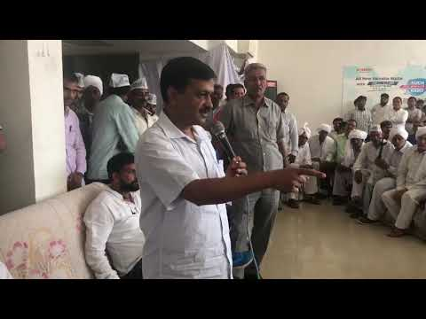 Delhi CM Arvind Kejriwal Addresses People in Jind (Haryana)