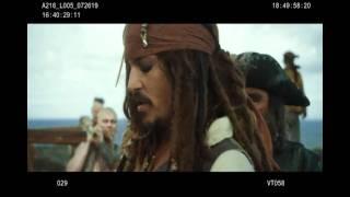 Пираты Карибского Моря, Смешные дубли: 4 часть